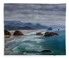 Ecola Viewpoint Fleece Blanket