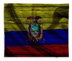 Ecuador Fleece Blanket