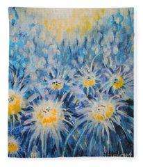 Edentian Garden Fleece Blanket