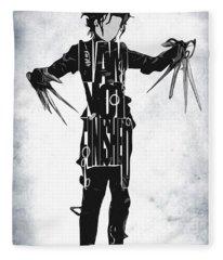 Edward Scissorhands - Johnny Depp Fleece Blanket