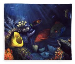 Eel Fleece Blanket