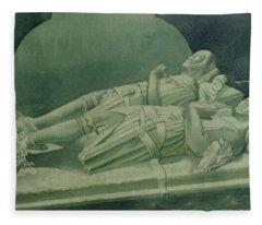 Effigies, Winchelsea Church Fleece Blanket