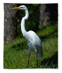 Egret - Full Length Fleece Blanket