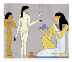 Egyptian Princess Fleece Blanket