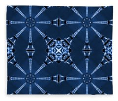Eiffel Art 18 Fleece Blanket