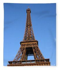 Eiffel Tower 2005 Ville Candidate Fleece Blanket