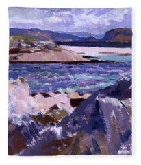 Eilean Annraidh From The North End Fleece Blanket