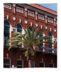 El Centro Espanol De Tampa Fleece Blanket