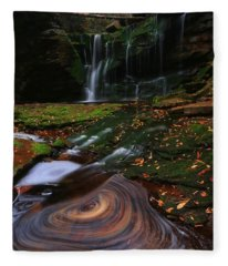 Elakala Falls Fleece Blanket