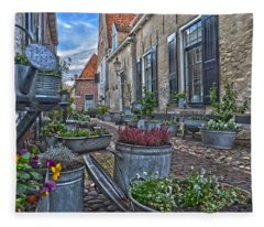 Elburg Alley Fleece Blanket