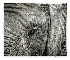 Elephant Fleece Blanket
