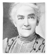 Ellen Swallow Richards, American Chemist Fleece Blanket
