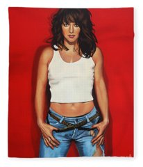 Ellen Ten Damme Painting Fleece Blanket