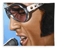 Elvis Presley Fleece Blankets