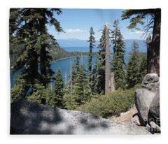 Emerald Bay Vista Fleece Blanket