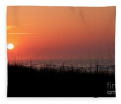 Emerald Isle Sunrise II Fleece Blanket