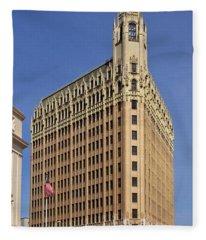 Emily Morgan Hotel Fleece Blanket