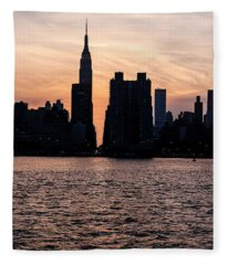 Empire On 5th Avenue Fleece Blanket