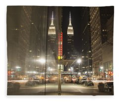 Empire Reflections Fleece Blanket