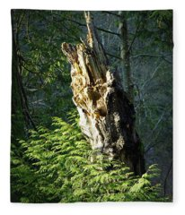 Enchanted Woods Fleece Blanket