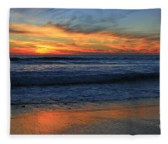 Swamis Skyburst 21x40 Inches Fleece Blanket