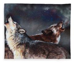 Enduring Spirit Fleece Blanket
