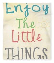 Little Things Photographs Fleece Blankets