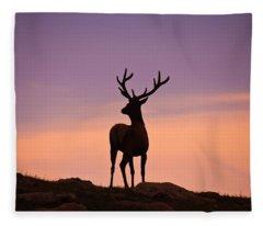 Enjoying The View Fleece Blanket