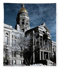Equality State Dome Fleece Blanket