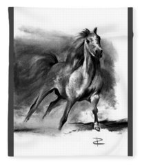 Equine II Fleece Blanket