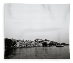 Ethereal Udaipur Fleece Blanket