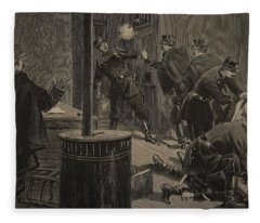 Etievant, The Anarchist Shoots Fleece Blanket