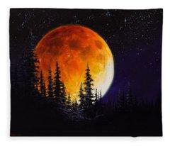Ettenmoors Moon Fleece Blanket