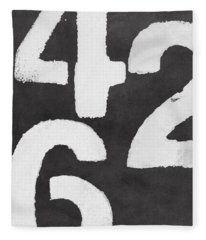 Even Numbers Fleece Blanket