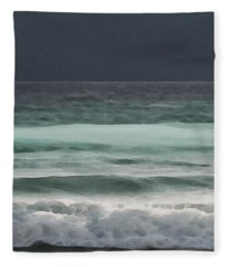 Even Tides Fleece Blanket