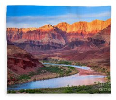 Evening At Cardenas Fleece Blanket