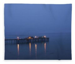 Evening Enters Capitola Fleece Blanket
