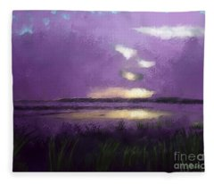 Exe Estuary Fleece Blanket