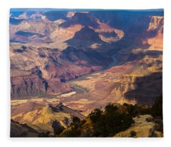 Expanse At Desert View Fleece Blanket