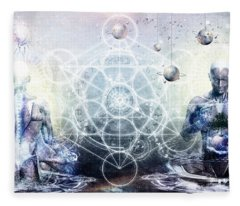 Experience So Lucid Discovery So Clear Fleece Blanket