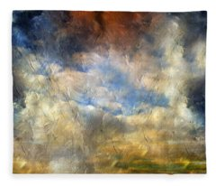 Eye Of The Storm  - Abstract Realism Fleece Blanket