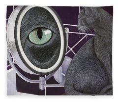 Eye See You Fleece Blanket