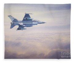 F-16 Fighting Falcon Fleece Blanket