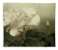 Faded Rose Fleece Blanket