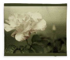 Faded Rose Fleece Blanket
