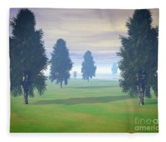 Fairway To Seven Fleece Blanket
