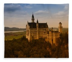 Fairy Tale Castle Fleece Blanket