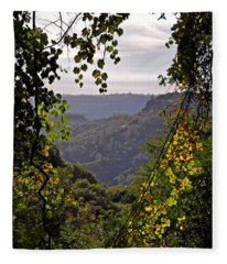 Fall Frames The Canyon Fleece Blanket