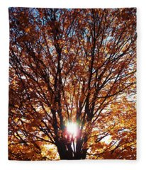 Fall Light Fleece Blanket