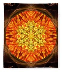 Fall Nature Spirit Fleece Blanket